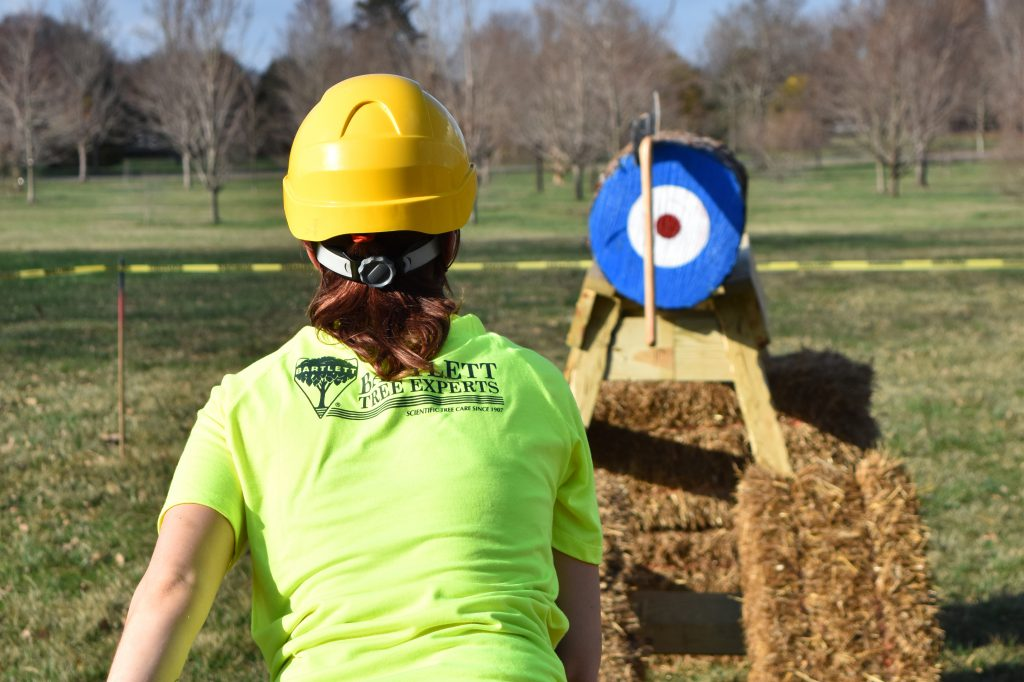 15 olympics axe throw 1024x682 - Bartlett Women in Arboriculture