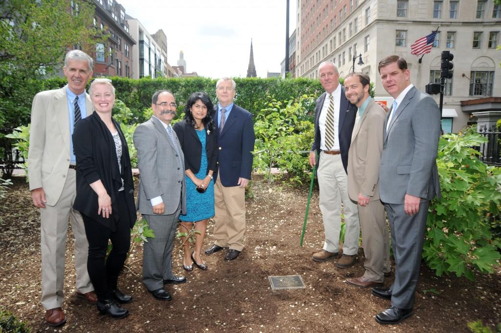 9 11 Survivor Tree1 1024x681 - Planting of Survivor Tree Sapling at Boston Public Gardens