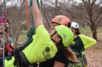 9 field day climbing 3 200x133 - Bartlett Women in Arboriculture
