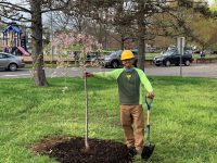 Earth Day 219 Stamford Tree Planting 200x150 - Arbor Day and Earth Day 2019