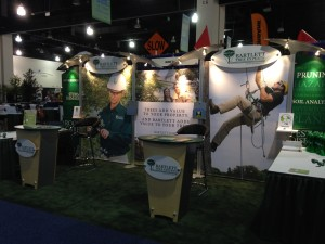 Bartlett booth at the  Annual Conference and Trade Show in Milwaukee, 2014
