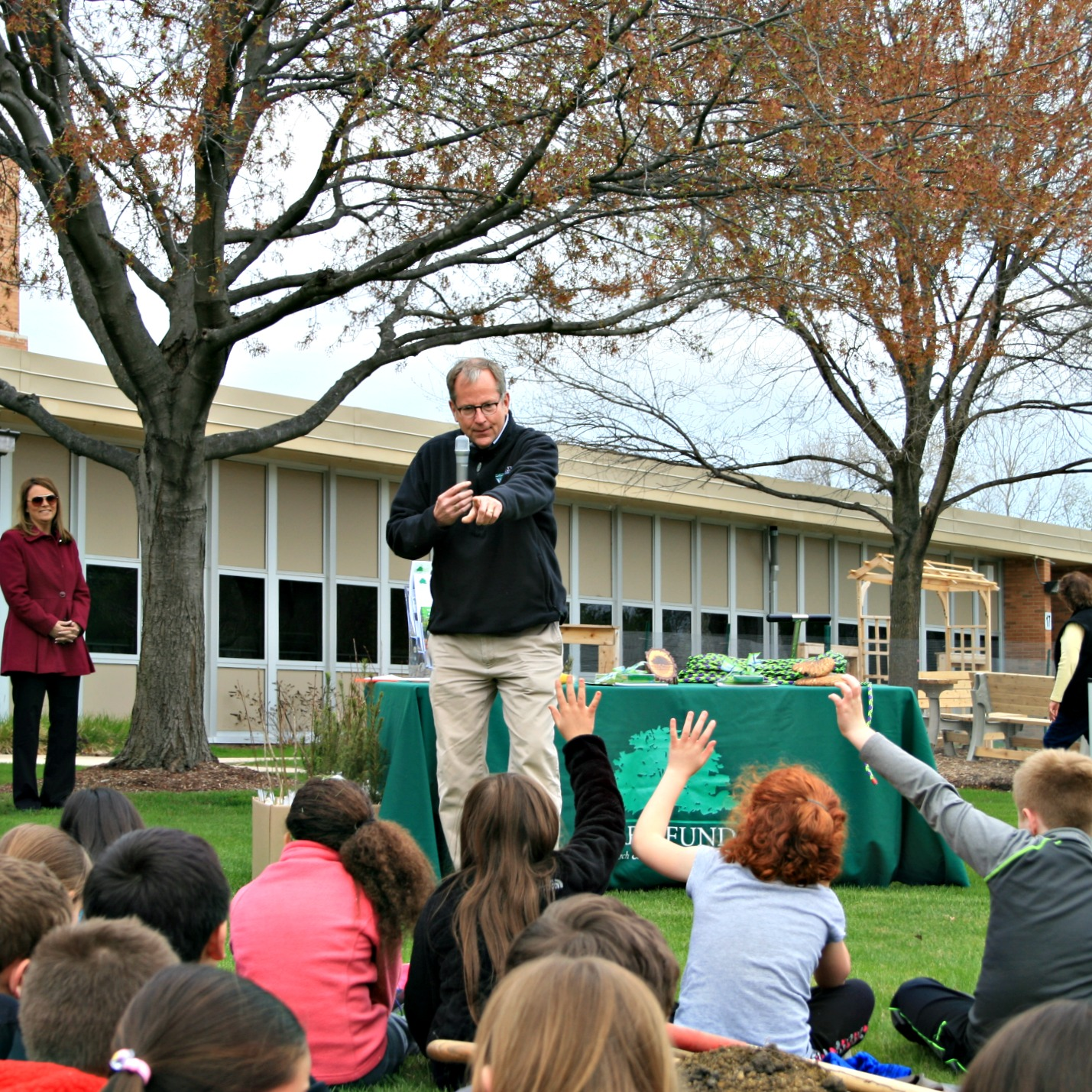 elmwood school - Arbor Day and Earth Day 2015
