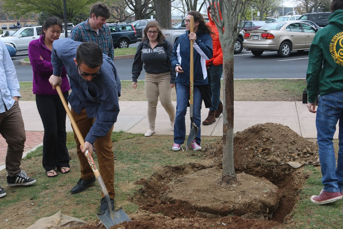 franklin and marshall - Arbor Day and Earth Day 2015