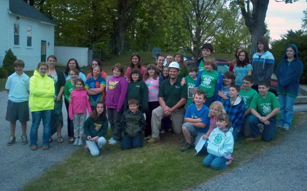 Pittsfield, NH Victory Workers 4-H Club Members