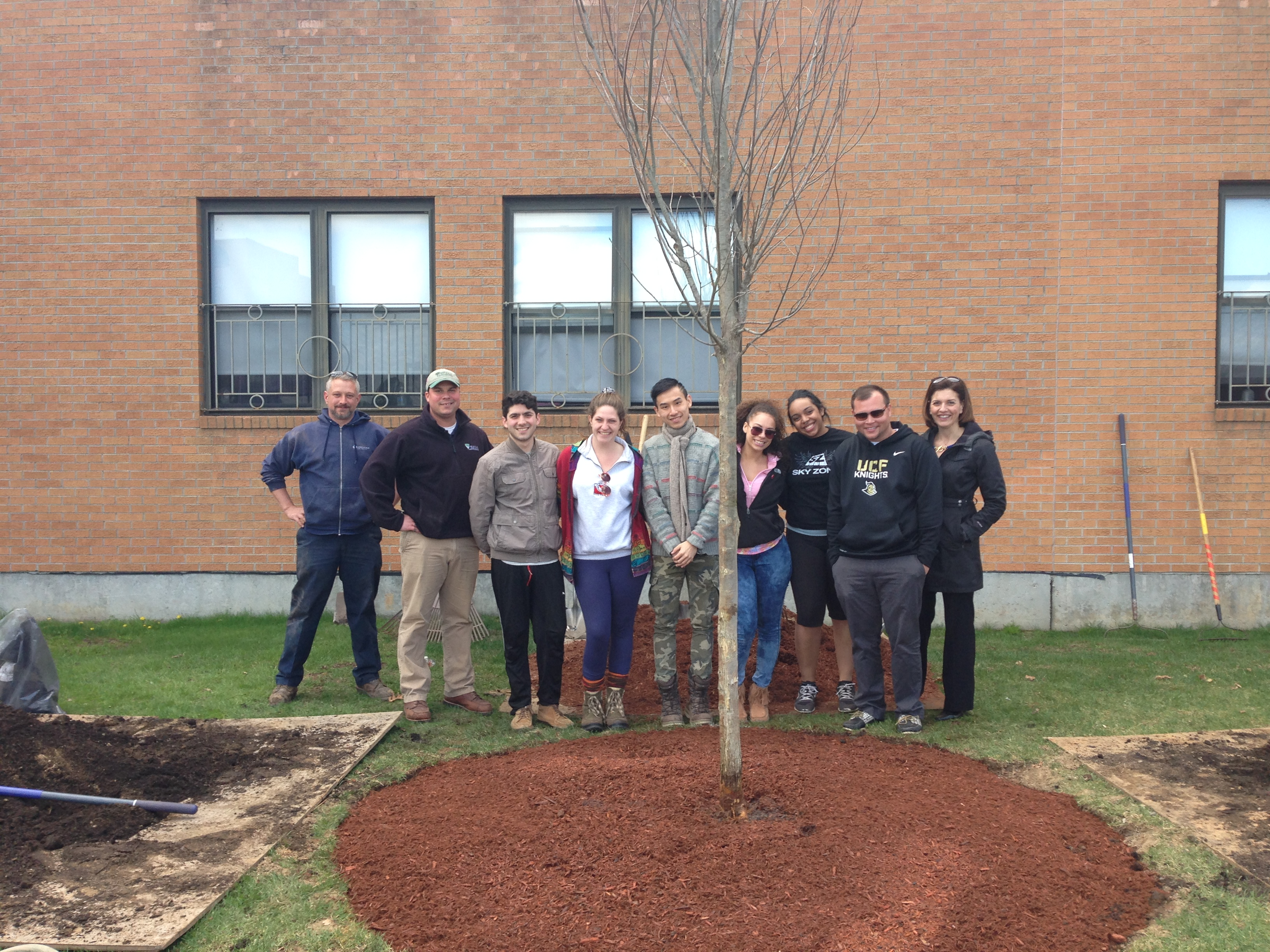 johnson and wales - Arbor Day and Earth Day 2015