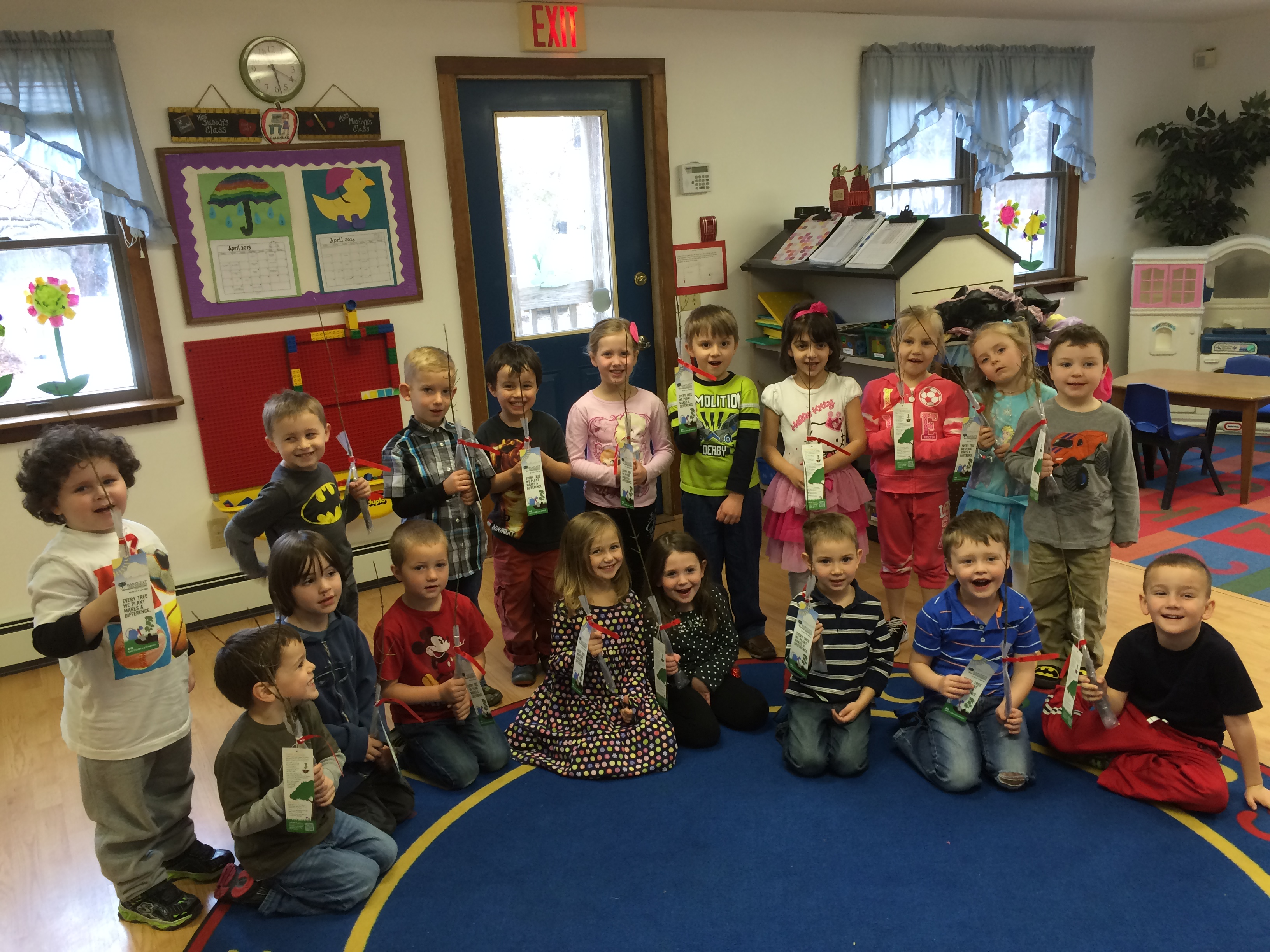leapfrog preschool - Arbor Day and Earth Day 2015