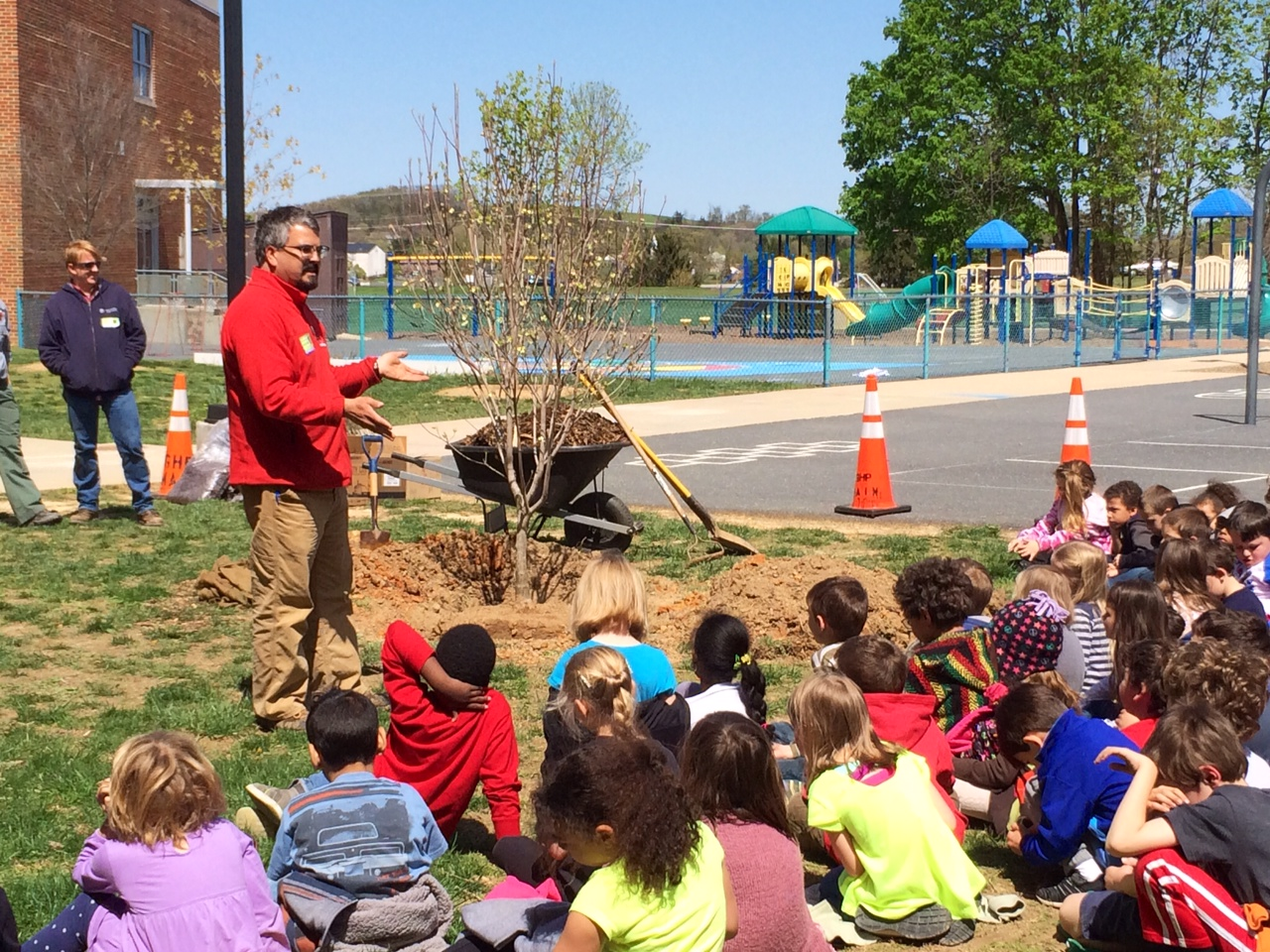mcswain elementary - Arbor Day and Earth Day 2015