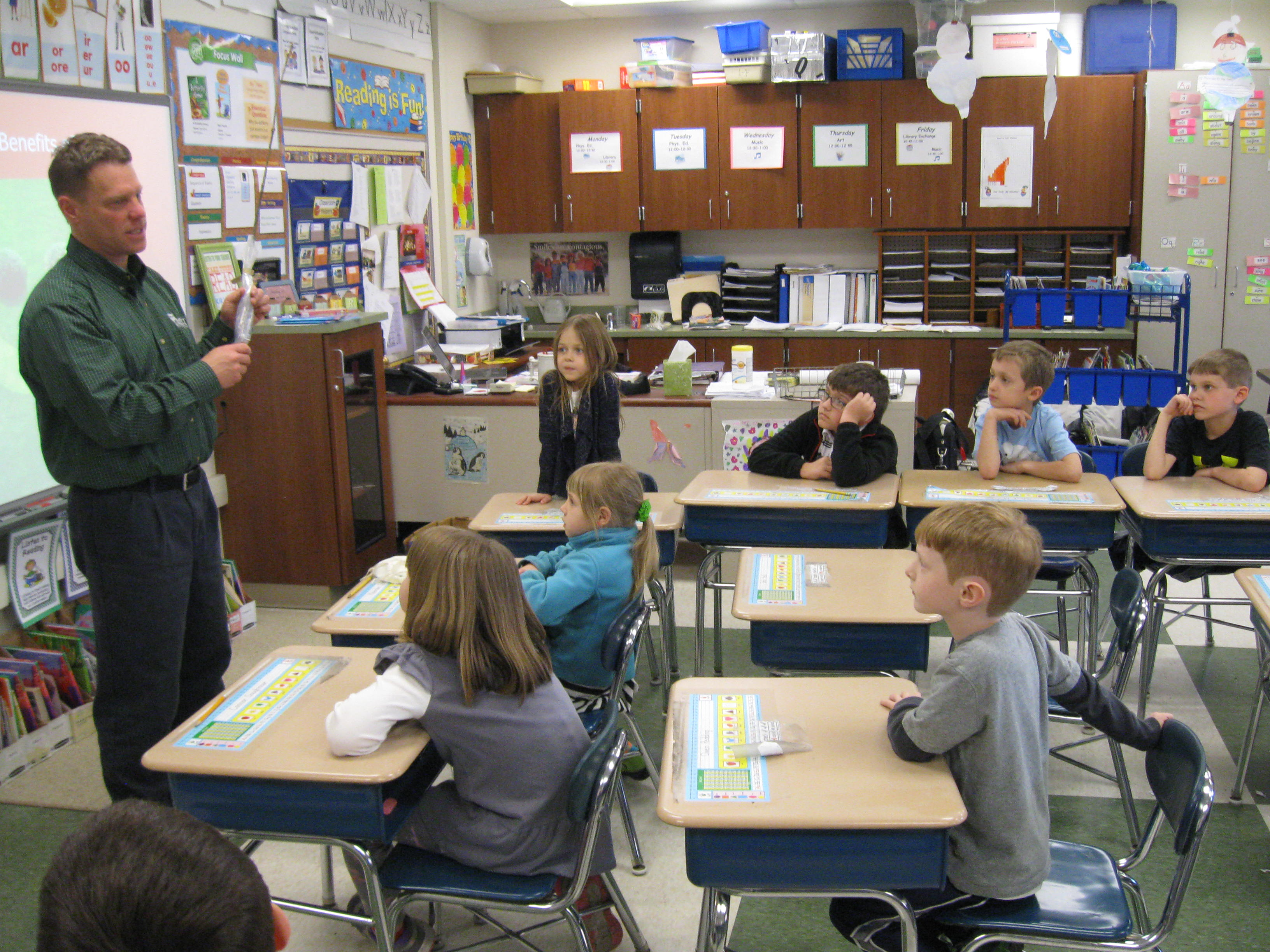 poff elementary - Arbor Day and Earth Day 2015