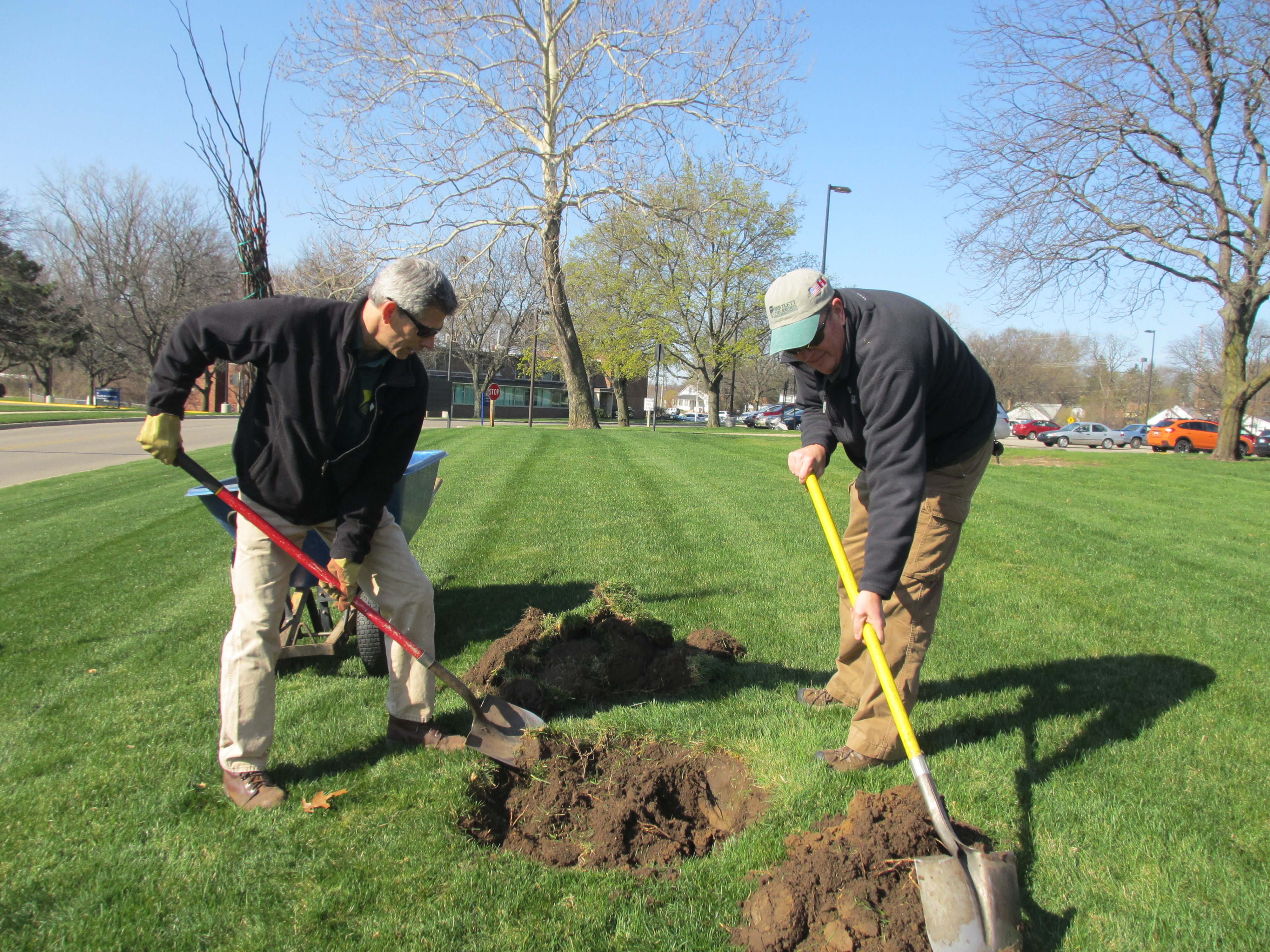 specturm health rehab - Arbor Day and Earth Day 2015