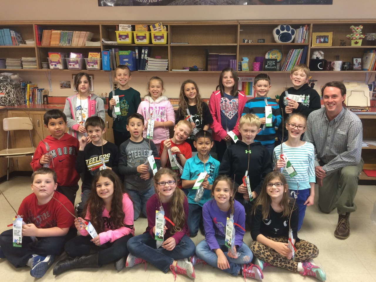 west hanover - Arbor Day and Earth Day 2015