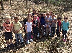 Bartlett Tree Experts volunteering on Earth Day