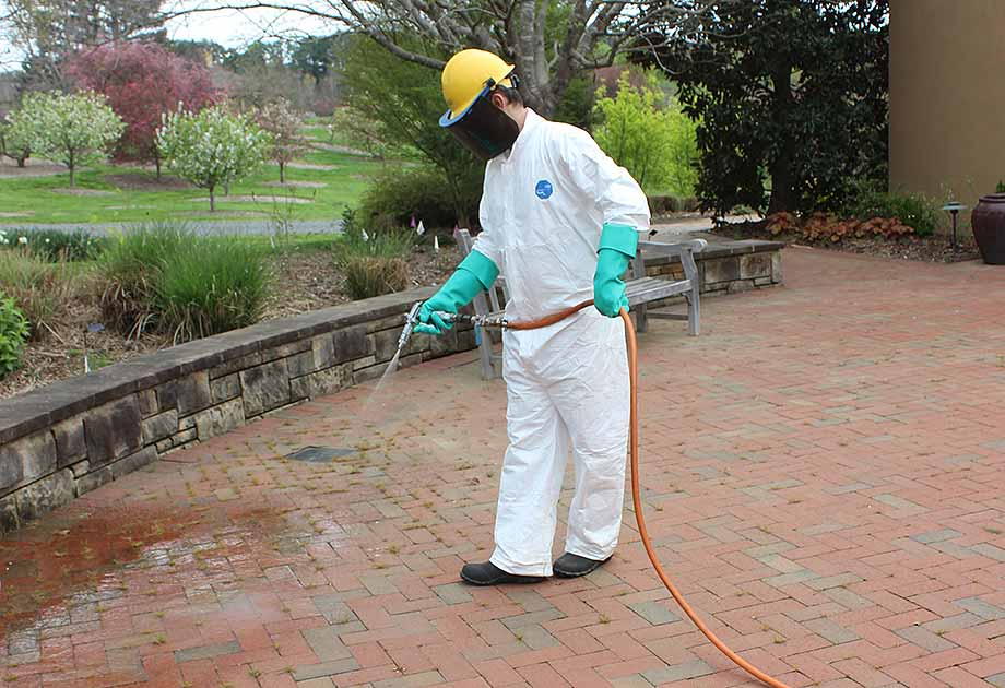 New Outdoor Disinfectant Applications