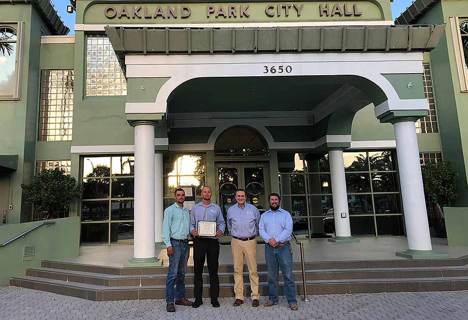 Oakland Park Bartlett Office Named one of the  Best Businesses in the City