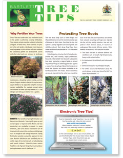 Bartlett Tree Tips - Spring 2009