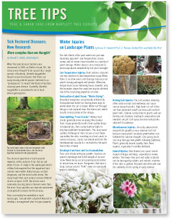 Bartlett Tree Tips - Spring 2015