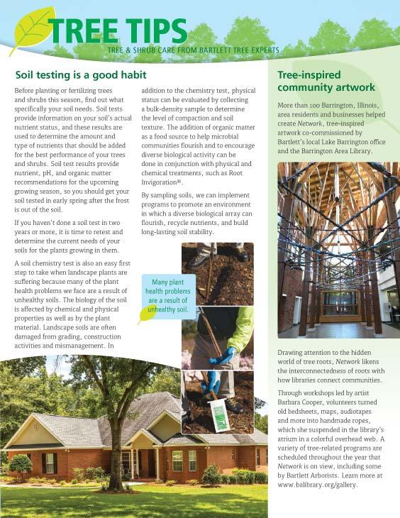 Bartlett Tree Tips - Spring 2018