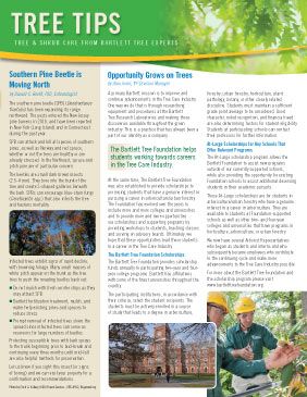 Bartlett Tree Tips - Summer 2015